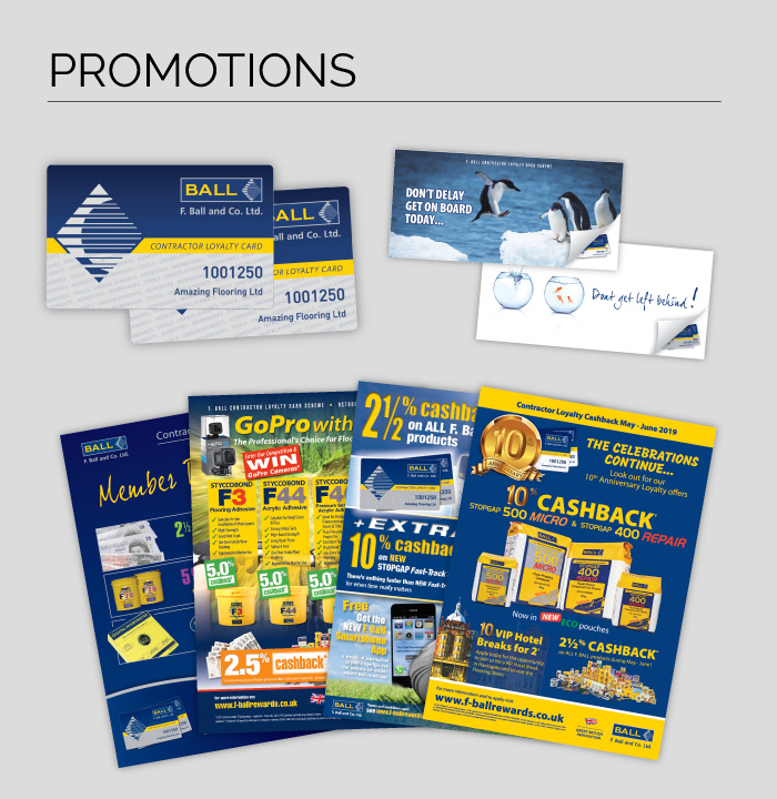 Promotions by Oyster Creative